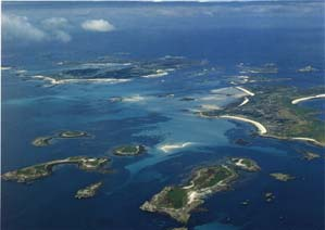 Picture: Aerial view Isles